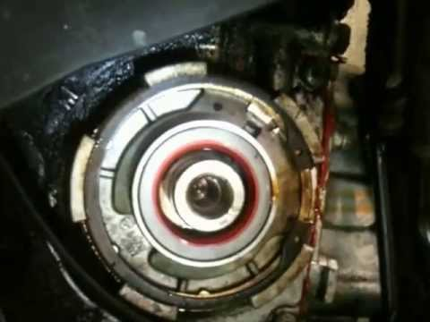 Saab 9-5 Oil Leak Crank shaft seal