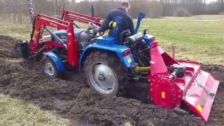 Foton tractor on its limits - heavy tilling