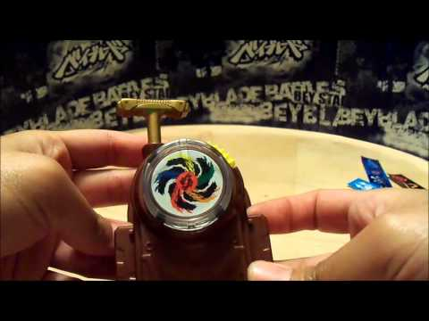 Beyblade Metal Masters REV UP LAUNCHER Unboxing and Review