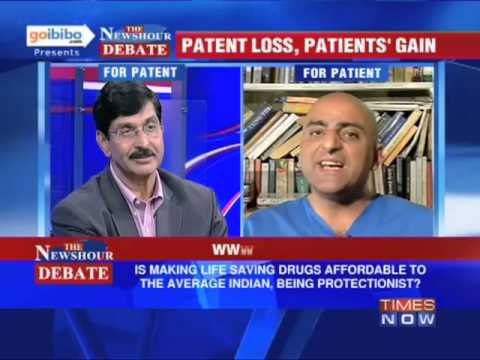 The Newshour Debate: Cancer Drug Patent V/S Cancer Patient (Part 1 of 3)