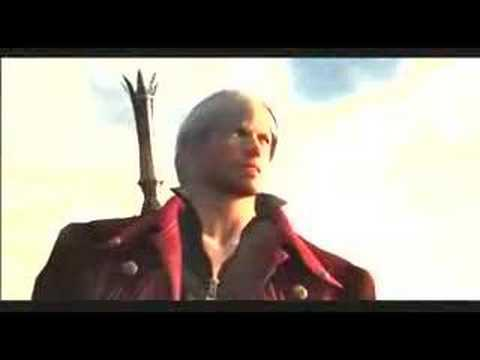 Devil May Cry 4 - Dante saves Nero
