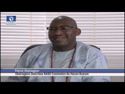 Obahiagbon Says House Of Reps Fracas Is Harum Scarum Act Of Political Gambadorism video