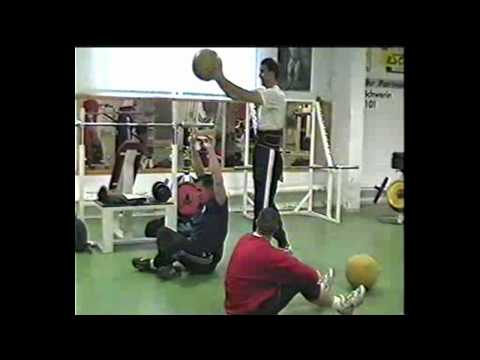 Jurgen Schult Discus Thrower Medicine Ball Training Image 1