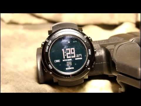 The Gear Locker - Suunto Core ALU Deep Black Review 'Outstanding Survival Watch!'