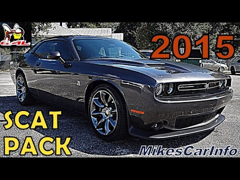 2015 Dodge Challenger R t Scat Pack 6730 video