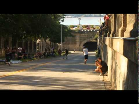 Longboarding: Broadway Bomb Tech Slide Jam