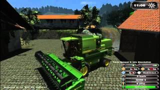 ls, 2011, john, deere, 1175, mähdrescher, combine, landwirtschaft, simulator, acert, modhoster