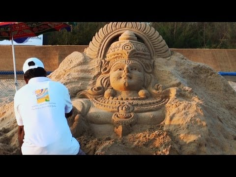 Sand Art Festival in Odisha
