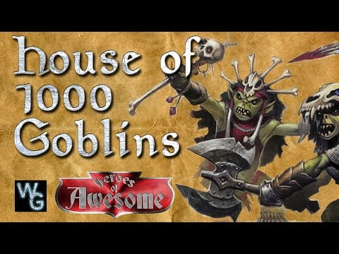 House of 1000 goblins - Heroes of Awesome: Chapter 4