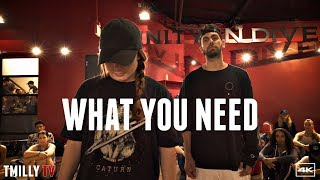 Download Lagu Baynk - What You Need - Choreography by Jake Kodish - #TMillyTV ft Haley Fitzgerald, Sean Lew Gratis STAFABAND