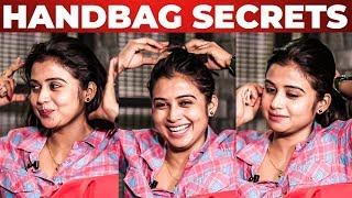 HAIRSTYLE Techniques | Sri Pallavi HANDBAG Secrets Revealed | What's Inside the HANDBAG