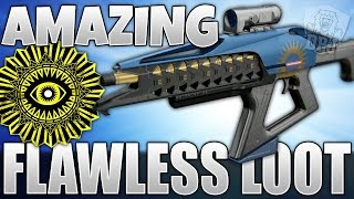 Destiny: Amazing Flawless Trials Of Osiris Loot - Rise Of Iron T.O.O Lighthouse Rewards