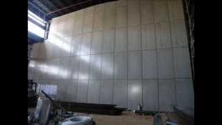 אקזוטק פאנל  לקירות פנים מראה בטון