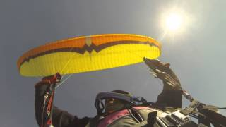Paragliding SIV - Frontal collapse