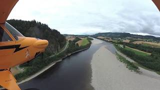 Carbon Cub LN BER filmed with Virb 360 camera