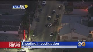 Child Injured In South LA Shooting, Condition Unknown