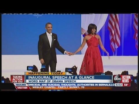 Michelle Obama wears Wu to the balls again
