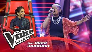 Pavithra Madumali - Matama mama amathaka novi Blind Auditions  | The Voice Sri Lanka