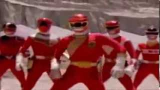 TRANSFORMACION DE LOS POWER RANGER RED MEJORADO