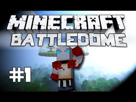 Minecraft Battledome! - w/Pete, Christian and Woofless! #3: Part 1 - WE GOT DIAMONDS!