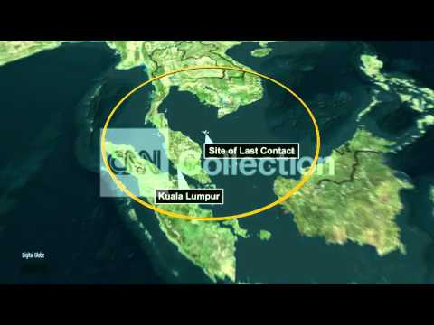 MALAYSIA AIRLINES FLIGHT 370 ANIMATION (NEW)