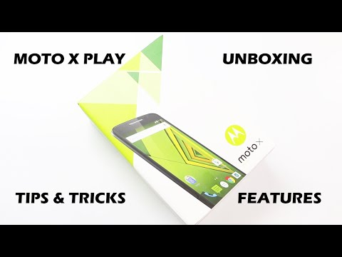 Moto X play Unboxing and Complete Tips & Tricks with Hands On