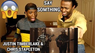 Download Lagu Justin Timberlake - Say Something ft. Chris Stapleton (REACTION) Gratis STAFABAND