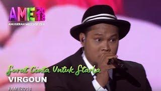 Download Lagu #AME2018 I Virgoun | Surat Cinta Untuk Starla I Anugerah MeleTOP ERA 2018 Gratis STAFABAND