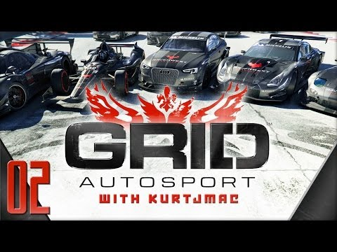 GRID Autosport Career Mode - 02 - High Res Texture Pack