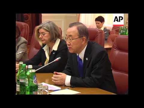 4:3 Yatsenyuk meets Ban Ki-moon, Turchynov meets Steinmeier