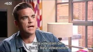 Robbie Williams about Gary Barlow.. and... did he have sex with him???