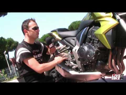Honda CB 1000R Test