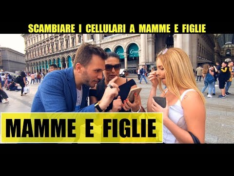 SCAMBIARE I CELLULARI A MAMME E FIGLIE - Giacomo Hawkman