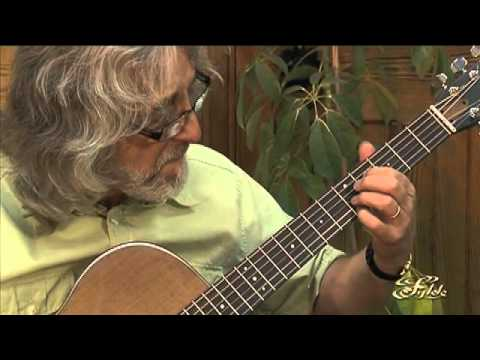 GORDON GILTRAP plays 'FIONA'S SMILE' on one of his FYLDE GUITARs