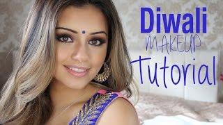 Tutorial | Indian/Diwali Smokey Eye Makeup 2014 | Kaushal Beauty