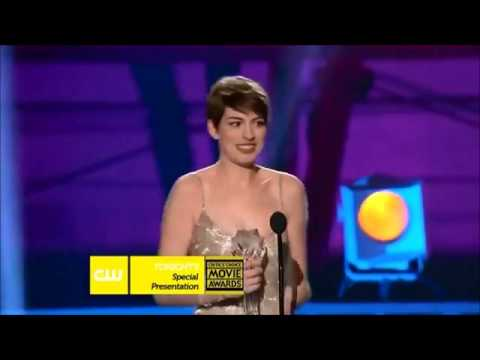 Anne Hathaway wins Best Supporting Actress at Critics Choice Awards!!!!!!