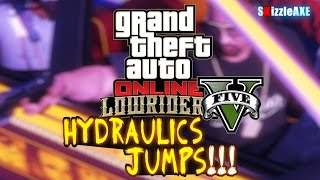 GTA 5 How To Put Hydraulics & Jump Your Lowrider Vehicles/Cars in GTA Online (LOWRIDERS DLC Update)