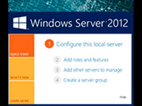 Windows Server 2012  - cоздание домашних папок пользователей домена