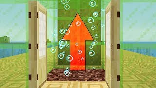 NEW 1.13 WATER MECHANICS! Water Elevator, Kelp Farm (Minecraft Snapshot)