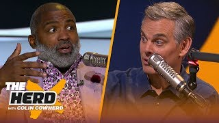 'I feel bad' for KD, talks Raptors defense & Zion Williamson — Cuttino Mobley | NBA | THE HERD