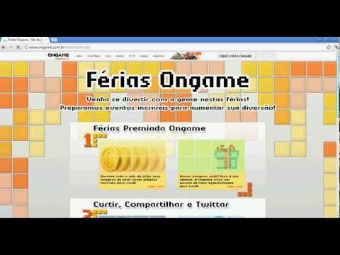 Como se cadastrar no site ongame.com