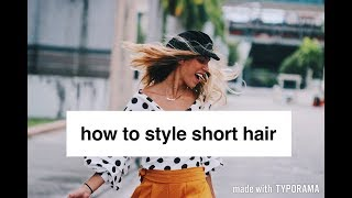 How to Style a Lob// Short Hair | Claudia Acanda