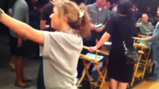 iCarly Rehearsal - iTackle Each Star :)