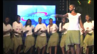NAIROBI GIRLS CHORALE performing a 'Luo Folk Song' on THE KWAYA