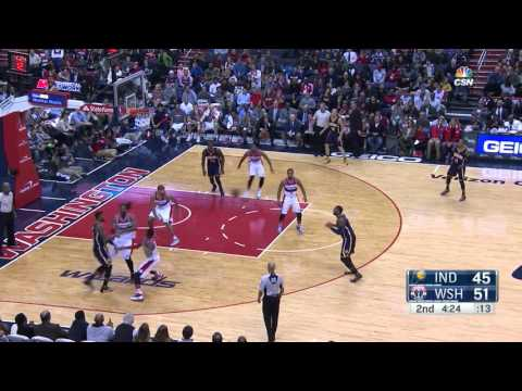 Indiana Pacers Hits 19 Three Point VS Washington Wizards