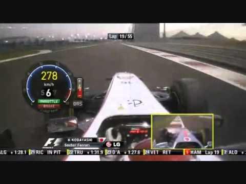 F1 2011  Abu DhabiGP  Kamui Kobayashi Onboard