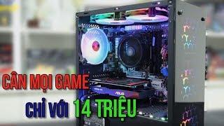 PC 14 Triệu cân tất cả Game với Ryzen 3 2200G kết hợp GTX 1050TI | ANPHATCOMPUTER