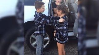 Die beiden 9-jährigen werden sich nie wieder sehen - der Abschied geht um die Welt