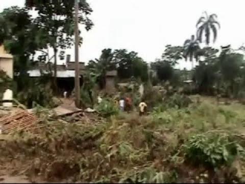 Desbordamiento de ríos en Napo causan estragos