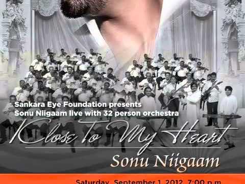 Sonu Nigam -  Kyon Hawa (Veer-Zaara) Sankara Eye Foundation